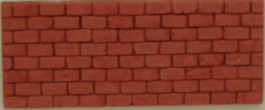 Brick Slips - Dolls House - 1/24th Scale
